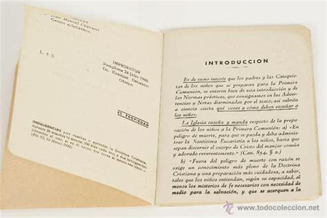 libro mi primera comunion catecismo del nino mi primera catecismo de primera comunion entresacado del p comprar