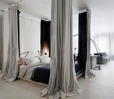 bed with curtains around it how to create dreamy bedrooms using bed curtains