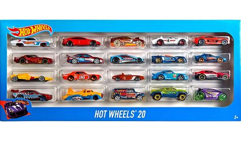Hot Wheels Basic Diecast 20 Pack   Kids   ASDA Direct