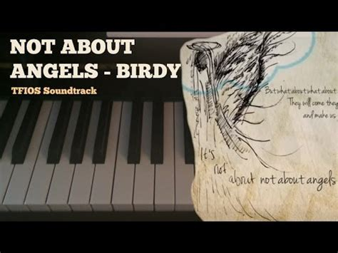 Tutorial Piano Not About Angels | not about angels tfios birdy piano tutorial youtube