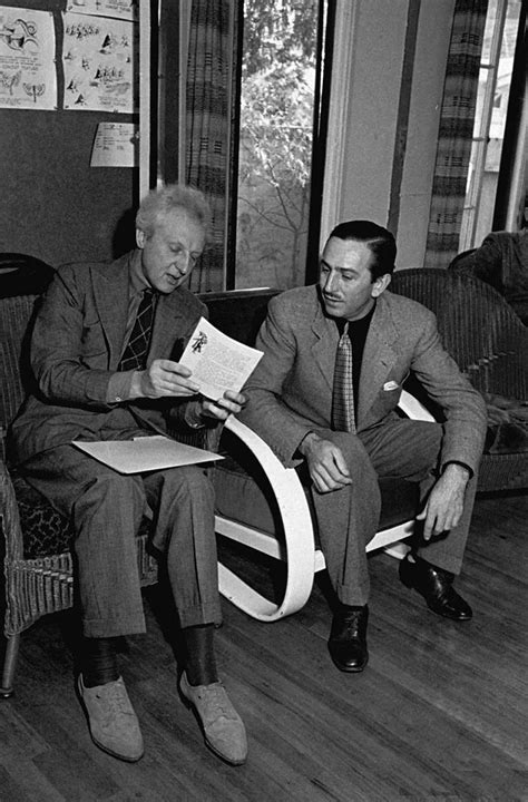 Walt Disney and Leopold Stokowski (With images) | Walt