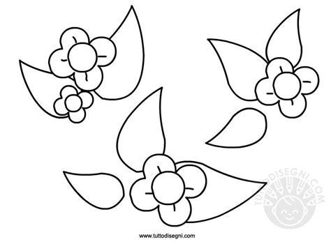 disegni fiori stilizzati da colorare primavera fiori stilizzati da colorare tuttodisegni