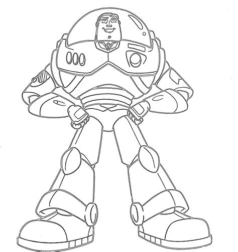 buzz lightyear standing coloring pages gianfreda net