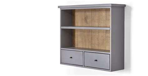 wall mounted shelving units iona wall mounted shelving unit solid pine and pebble grey made