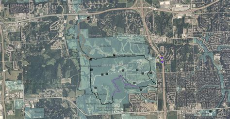 shawnee mission park johnson county parks rec trails in kansas kansas council