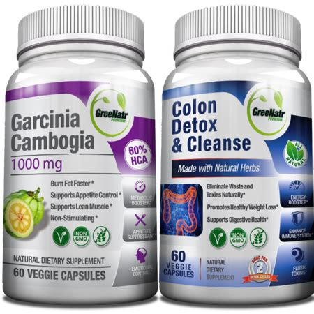 Herbal Detox Drink Walmart by Colon Detox Garcinia Cambogia Detox