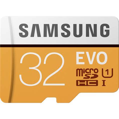 Samsung Evo Micro Sd 32gb Samsung 32gb Evo Uhs I Microsdhc Memory Card Mb Mp32ga Am B H