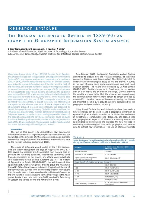 gis research paper topics presentation and paper on gis and the russian influenza