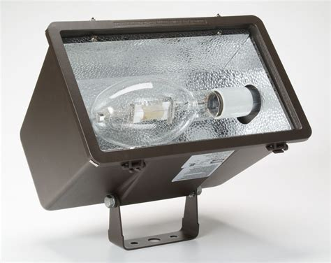 hubbell led flood lights hubbell lighting outdoor mhs y400s5 bronze 1 light