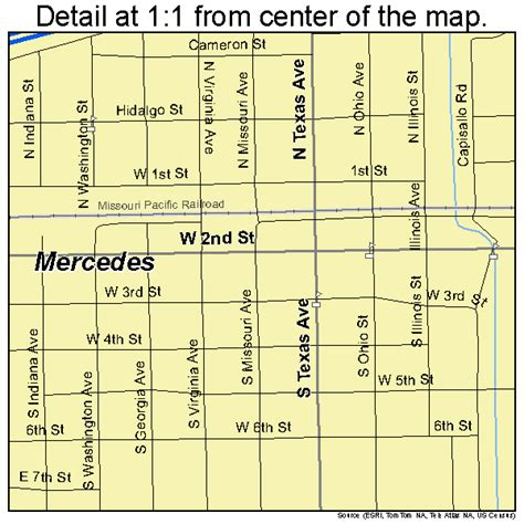 mercedes texas map mercedes texas map 4847700