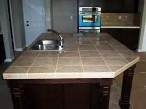 ceramic tile countertop ideas home pinterest