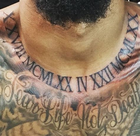 Odell Beckham Tattoo Neck | quot october 18 1970 and april 22 1970 quot that s his parents