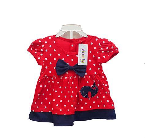 Dress Kaos Sablon jual baju bayi dress anak vinata dev vs polka dolphin harga murah jakarta oleh pt sarana