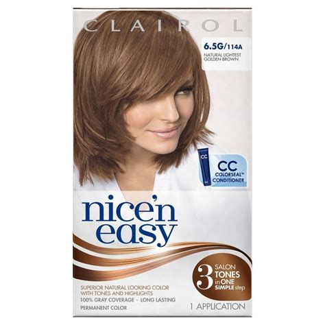 clairol light reddish brown hair dye clairol nice n easy hair color best hair dye pinterest