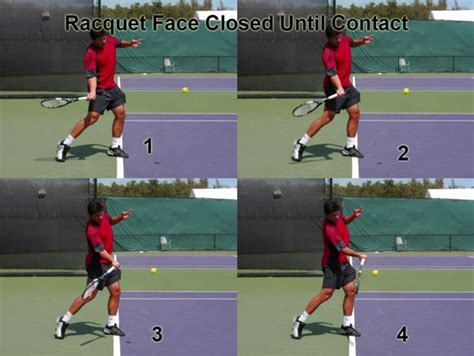 proper tennis swing section 01 the forehand forward swing explained ftp