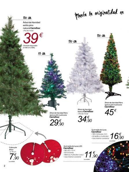 arboles de navidad carrefour arbol navidad carrefour precio navidad 2018