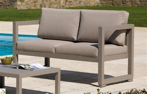 salotto sofa divano per salotto da esterno quatris arredo design