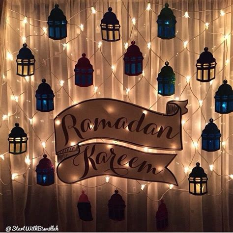 Islamic Decorations by 25 Best Ideas About Eid Decorations On