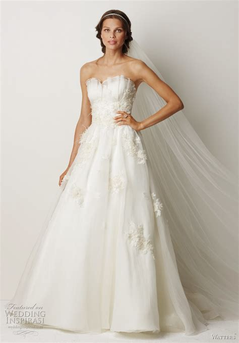 watters fall 2011 collection wedding dresses wedding