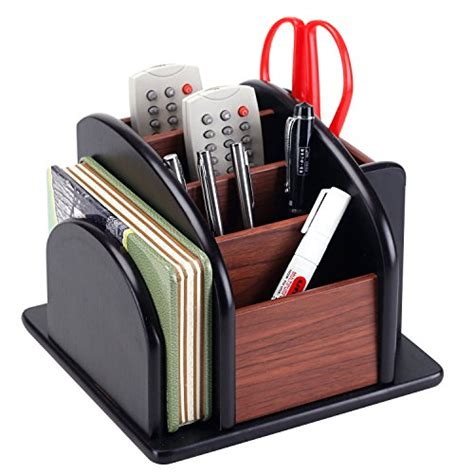 revolving wooden desk organizer rotating desk organizer staples 14470 us spinworx