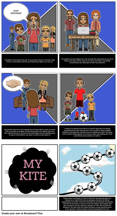 theme of conflict in the kite runner 65 best traditional storyboard layout images on pinterest