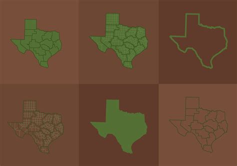 texas vector map texas map free vector stock graphics images