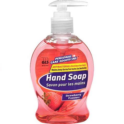 Soap Liquid Strawberry wholesale 7 5oz antibacterial liquid soap with