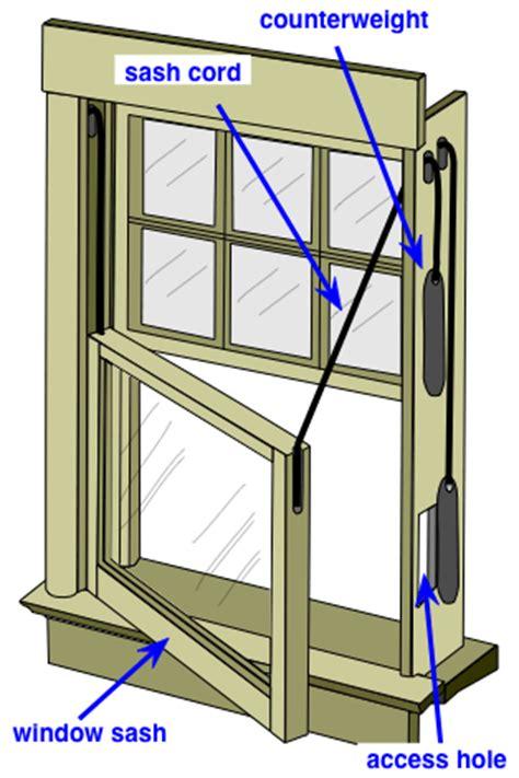 Repair Window Sash Cord How To Repair A Double Hung Window Sash Cord Do It