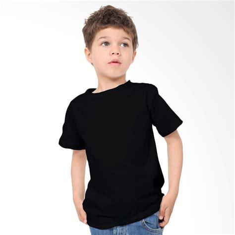 Kqos Anak Abu Polos Preloved jual kaosyes kaos polos t shirt anak hitam harga kualitas terjamin blibli