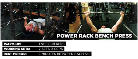 power rack for bench press pectoral college the smart 4 move plan for a chiseled