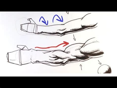 Novel Hq Simple how to draw an arm comic book way easy drawings