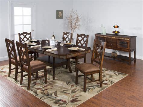 Dining Room Groups Sunny Designs Santa Fe Casual Dining Room Group Zak S