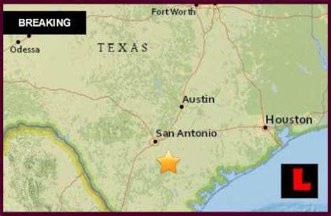 earthquake near me today texas earthquake 2015 today strikes near san antonio