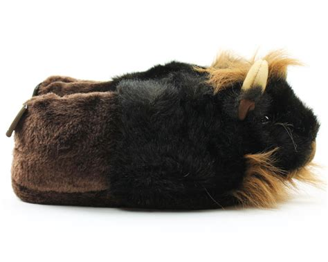 bison slippers buffalo slippers bison slippers prairie animal slippers