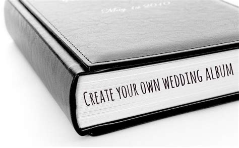 Wedding Album Create Your Own create your own wedding album with sweet memory albums