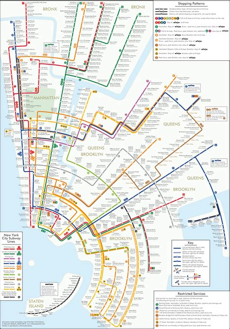metro map nyc circular subway maps random