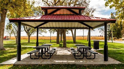Outdoor Metal Shelters by Outdoor Shelters From Superior Recreational Products