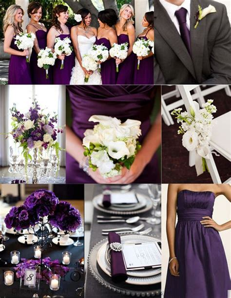 the color purple themes wedding ideas lisawola july 2013