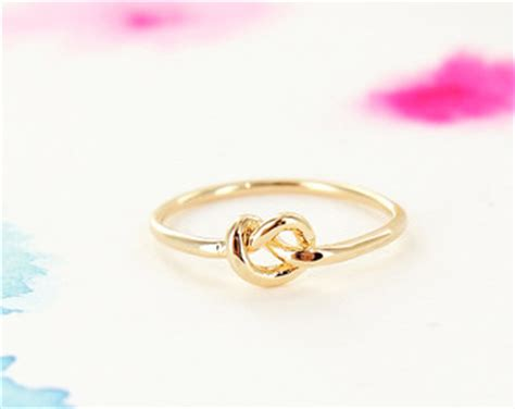 popular items for gold knot ring on etsy