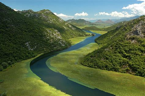 The Mora?a River on its way to Lake Skadar, Montenegro : pics