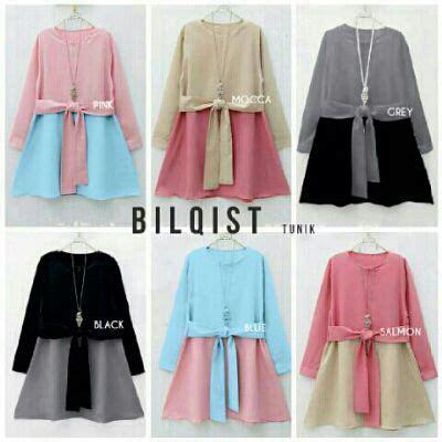 Atasan Blouse Wanita Vivo Tunik Crepe Tunik Crepe Blus Tunik 17 best images about baju muslim on models