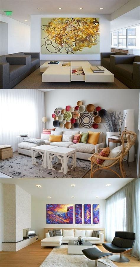 ways to decorate room creative ways to decorate a white walled living room