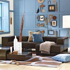 blue walls brown furniture living room interesting blue and brown living room blue