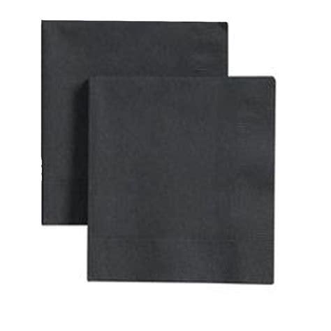 imagenes hojas negras 40x40 negras servilletas 2 hojas capas papel celulosa mas