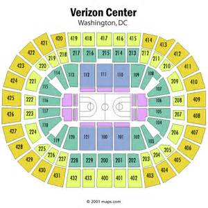 verizon center floor plan washington wizards seating chart washington wizards mci