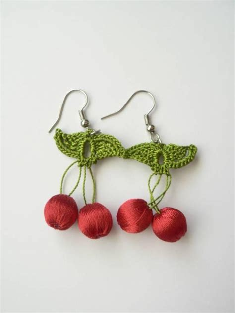 top 10 handmade crochet earrings topteny 2015
