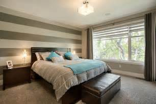 Photos wall bedroom accent wall two tone curtains erin feasby blue