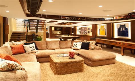 basement decor basement decorating tips model home interiors