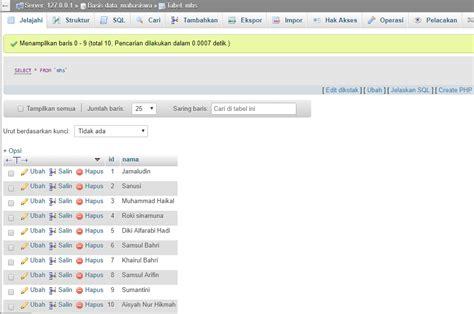 membuat login dengan php xp membuat form dengan php mysql membuat form pencarian