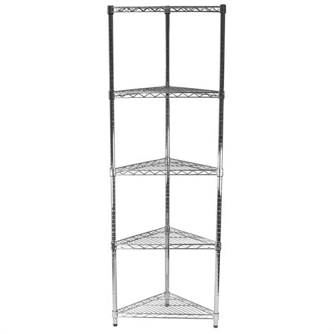 shelves amazing corner wire shelving wall mounted corner